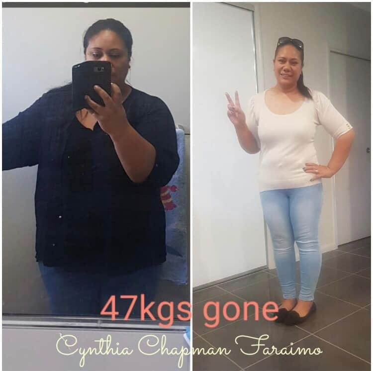 body transformation weight loss result
